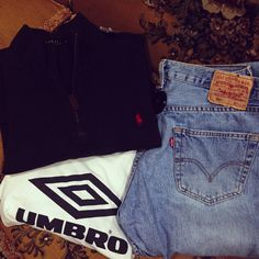 OOTD Men Style  Ralph lauren Pulli 24,90€ Umbro T-Shirt 9,90€ Levin Denim 15 €