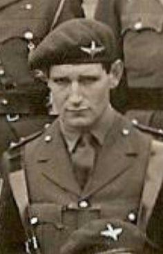 He was killed while defending the British perimeter around Arnhem Road Bridge. British Soldier, British Army, Troops, Soldiers, Operation Market Garden, Parachute Regiment, Paratrooper, Armies, Modern Warfare