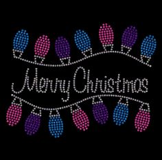 Merry Christmas with lights  Rhinestone Shirt!!! Rhinestone Shirts! Regular cut t-shirt sizes small- extra large $25.00, On a ladies cut t-shirt $30.00, on a long sleeve tee shirt or sweat shirt $35.00. Add an additional $5.00 for plus sizes. Shipping $5.00 first item, additional items $2.50 www.facebook.com/beachbumzbazaars