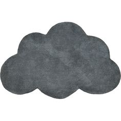 Tapis Nuage gris anthracite - Lilipinso and Co