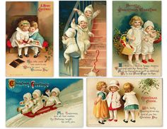 Magic Moonlight Free Images: Christmas Collage For You! Free images !