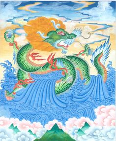 Tibetan Water Dragon