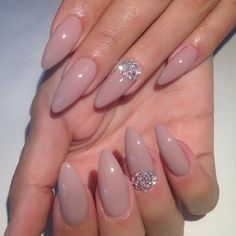 I don't like long or pointy nails but these are pretty