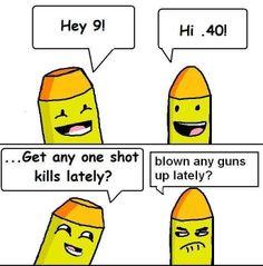 Sort of true. Bang 3, Gun Humor, Gun Rights, Gun Control, 2nd Amendment, Guns, Family Guy, Lol, Comics