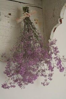 dried flowers always speak romance...