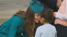 The Duke and Duchess of Cambridge visit Dunedin for Sunday service
