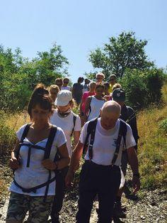 2/7/2016 - #Stralignano. Camminata degli Amici di Confartigianato verso il Monte Lignano