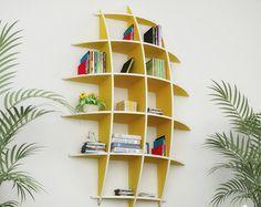 GIRAFFE BOOK SHELF - Cnc plans cutting file book shelf - svg cut file ,Sliced 3d…