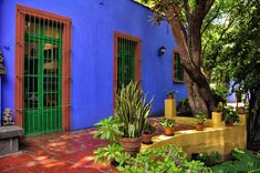 COLLECTION: ARCHITECTURE IN LIVING COLOUR features FRIDA KAHLO MUSEUM (BLUE HOUSE) by Museo Frida Kahlo​