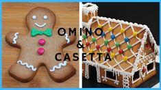 BISCOTTI DI NATALE: OMINO E CASETTA DI PAN DI ZENZERO by ItalianCakes Gingerbread Cookies, Desserts, Melting Pot, Genere, Youtube, Cookies, Finger Food, Bakken, New Years Eve