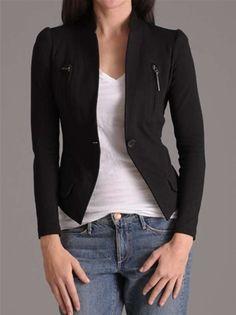 elegant zwart jasje