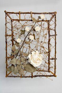 Rebenrahmen mit Rosen, groß | eBay