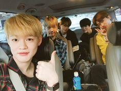 Chenle, Jisung, Jungwoo, Jeno and Jaemin
