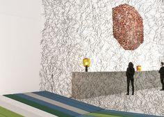 Momentané exhibition by Ronan and Erwan Bouroullec at Les Arts Décoratifs