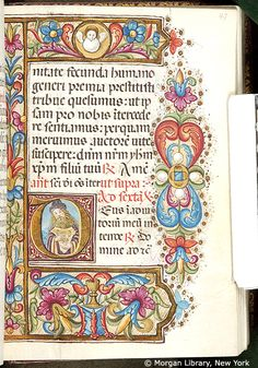 Book of Hours, MS M.80 fol. 47r - Images from Medieval and Renaissance Manuscripts - The Morgan Library & Museum