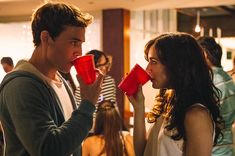 Lily Collins + Sam Claflin in Love, Rosie. Such a cute but enraging film, haha. Film Love Rosie, Alex And Rosie, Love Film, Romantic Comedy Movies, Romance Movies, Netflix Movies, Old Movies, Netflix Dramas, Teen Movies
