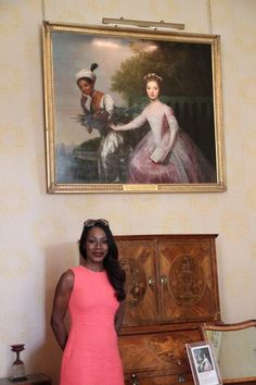 | TWITTER/@AmmaAsante | Meeting #DidoBelle after yrs of postcard print at my bedside. Looking fwd 2 intro-ing #Bellemovie 2 the world 2014