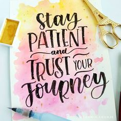 Catching up with Hope you're having a great day! Calligraphy Quotes Doodles, Brush Lettering Quotes, Doodle Quotes, Hand Lettering Quotes, Calligraphy Art, Watercolor Quote, Watercolor Lettering, Bullet Journal Quotes, Bullet Journal Ideas Pages