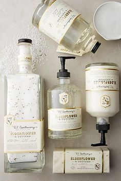 U.S. Apothecary Elderflower & Vetiver Bath Soak - http://anthropologie.com #flatlay #flatlays #flatlayapp www.theflatlay.com