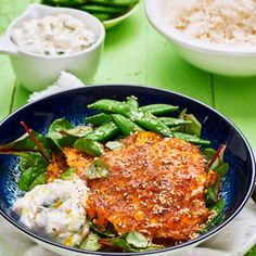 Keto Recipes, Vegetarian Recipes, Swedish Recipes, Salmon Burgers, Tapas, Healthy Snacks, Foodies, Curry, Lunch