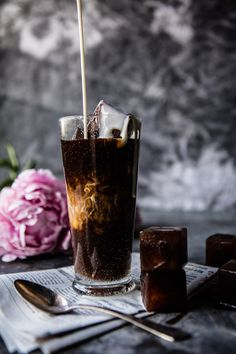 My Perfect Vanilla Bean Iced Coffee - When it comes to an everyday drink like iced coffee, delicious & simple are the only way to go! @hbharvest halfbakedharvest.com