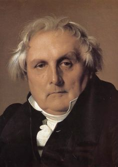 1832  Louis-François Bertin, French writer, art collector and director of the pro-royalist Journal des débats by Jean Auguste Dominique Ingres oil on canvas