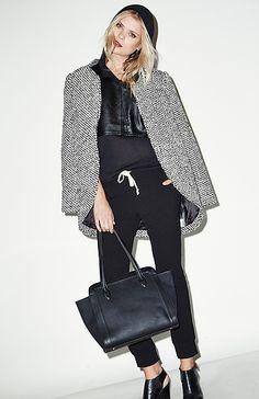 Finders Keepers Careless Love Tweed Coat in Black / White S - M | DAILYLOOK