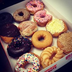 No words, just donuts. #donuts #sprinkles #instagram