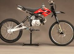 Spicytec: Motoped - Motorized Bicycle