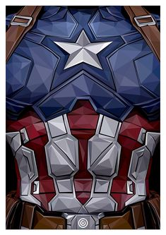 Captain America Triptych on Behance