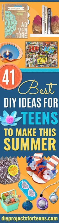Best DIY Ideas For Teens To Make This Summer