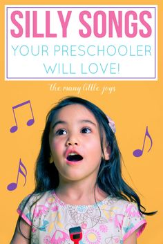 Here are eight silly preschool songs that your preschooler is sure to enjoy. Plus, music is a great way to develop language, motor, and memory skills.