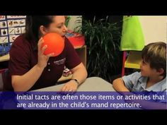 ABA Skills Training: Tact Training    Mnemonic devices for the test