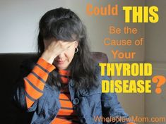 Do you have hypothyroidism? This Could Be the Real Cause - find out how to treat it and get to the bottom of your thyroid disease. #Symptomsandcausesofthyroidproblems
