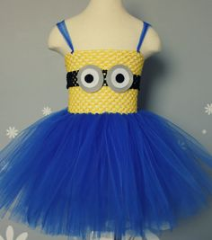 Zoey is having a minion 1st birthday party...this would be adorable! Minion Tutu Costume on Etsy, $18.00