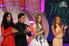 Tres de las Chicas seleccionada s, que clasificar y entrar al Concurso del Miss Venezuela 2015.