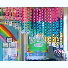 These paper chains are a great hands on activity to teach teen/twenty numbers and it is a great visual and display for students to understand the numbers. Preschool Math, Kindergarten Math, Teaching Math, Guided Maths, Math Math, Math Resources, Math Activities, Numeracy Display, Teaching Teen Numbers