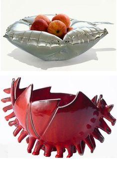 unusual decorative accessories vases fruit bowls