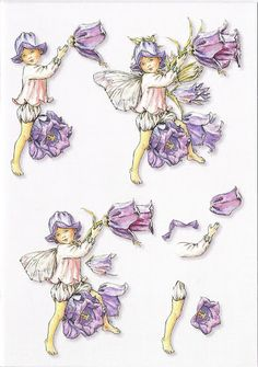 3D Mini 01 - Flower fairies – linda statham – Picasa Nettalbum
