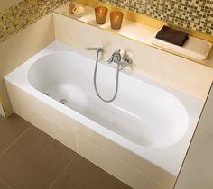 Ванны и поддоны Villeroy&Boch: Libra Bathroom Wall, Master Bathroom, Bathroom Furniture, Libra, Imperial Bathrooms, Bathroom Trends, Bathroom Ideas, Wall And Floor Tiles