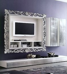 Cornici TV su misura per televisori LED. Disponibile su www.materik ...