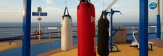 We've found several great cruise ship gyms and cool cruise fitness programs that you'll love aboard your favorite cruise ships. You can cruise and be fit. Cruise Tips, Cruise Travel, Atlanta Travel, Carnival Breeze, Workout Programs, Fitness Programs, Outdoor Gym, Set Sail, Gym Time
