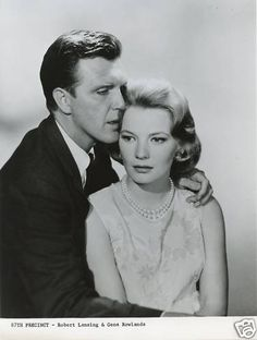 Robert Lansing and Gena Rowlands of 87th Precinct