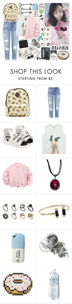 """M E L A N I E"" by k-pop-things-and-such ❤ liked on Polyvore featuring Miss Selfridge, Chicnova Fashion, ASOS, Michael Kors, Sony, Anya Hindmarch and Rachel"