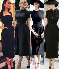 Trendy Dress Black Chic Beautiful Ideas Source by Kleider Trendy Dresses, Cute Dresses, Vintage Dresses, Beautiful Dresses, Flowy Dresses, Spring Dresses, Mode Outfits, Dress Outfits, Fashion Dresses