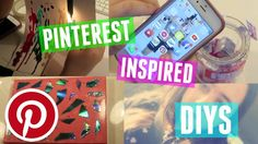 Pinterest Inspired DIY's | Safiye C
