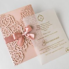 Quince Invitations, Wedding Invitation Cards, Wedding Cards, Our Wedding, Dream Wedding, Sweet 15 Invitations, Laser Cut Invitation, Wedding Venues, Quince Decorations