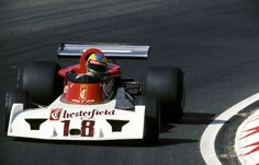 Conny Andersson in the Surtees TS19, Netherlands,...