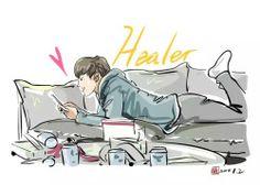 """""""Healer"""": Ji Chang Wook & Park Min Young"""