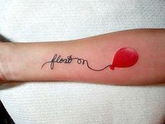 simple hot air balloon tattoo design - Design of Tattoos